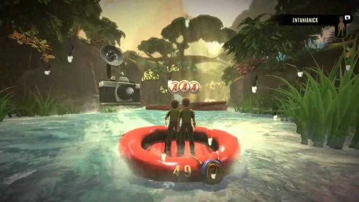 Kinect Adventures sur Xbox 360