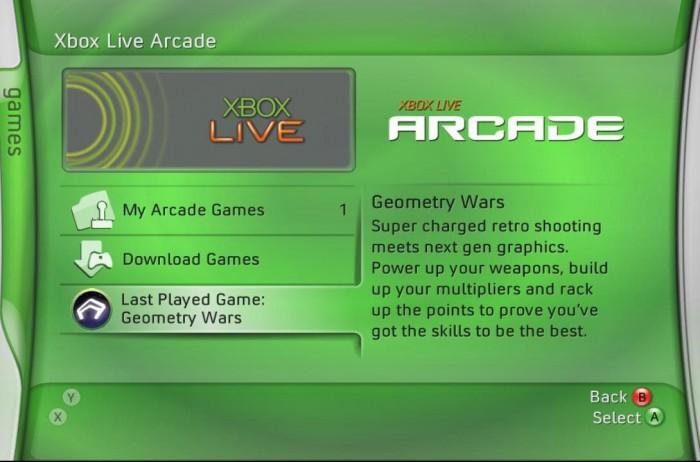 Xbox Live sur la toute première Xbox