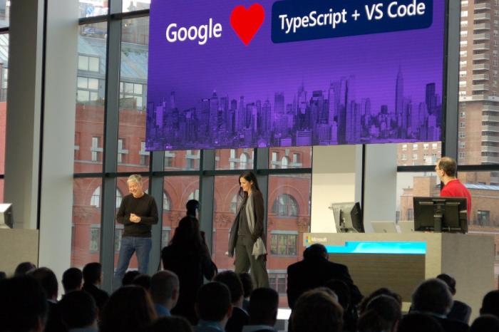Google n'hésite pas à dire en public son amour pour les outils Microsoft
