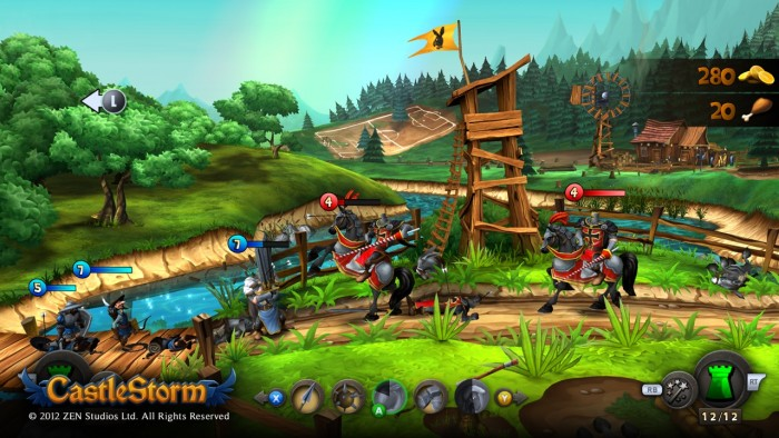 Castlestorm sur Xbox 360
