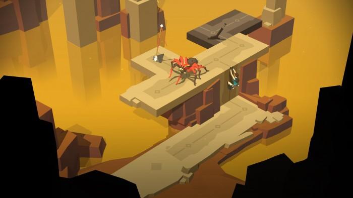 Lara Croft Go a été élu meilleur jeu 2015 sur iOS