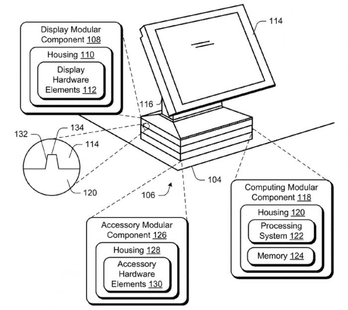 L'ordinateur est complètement modulaire et tout ou presque peut être remplacé