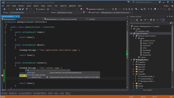 Xamarin est déjà intégré dans Visual Studio