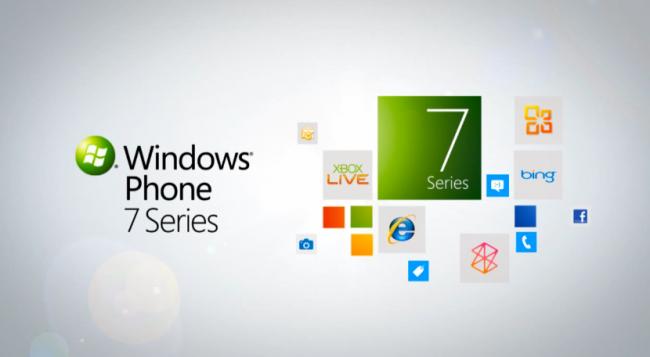 Tout a commencé avec Windows Phone 7 Series