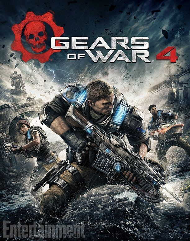 La jaquette du jeu Gears of War 4