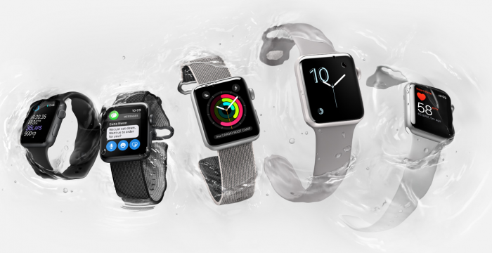 L'Apple Watch Series 2 peut aller sous l'eau