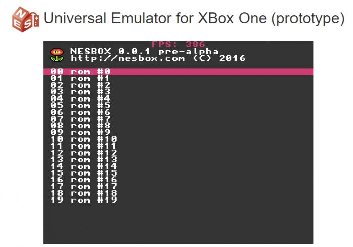 Jouez à vos jeux NES directement sur Xbox One grâce à Edge