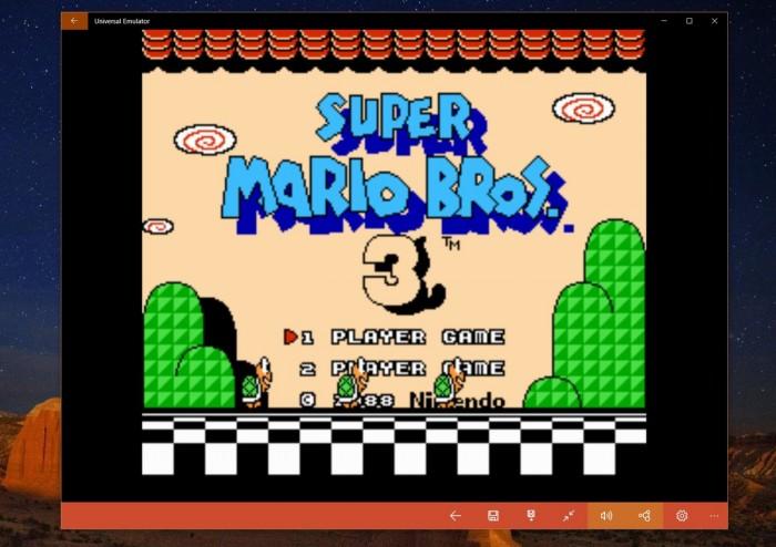 Jouez à Super Mario Bros. 3 grâce à nesbox