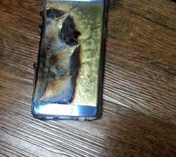 Voila ce qui peut arriver à votre Galaxy Note 7