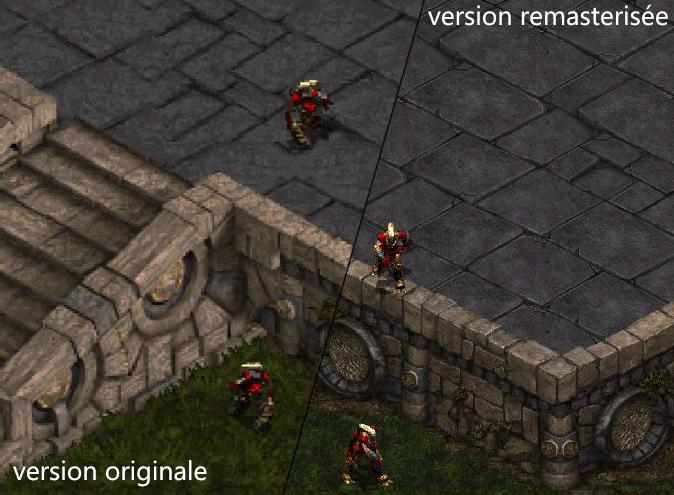 Les sprites 2D seront spécialement redessinées pour StarCraft Remastered