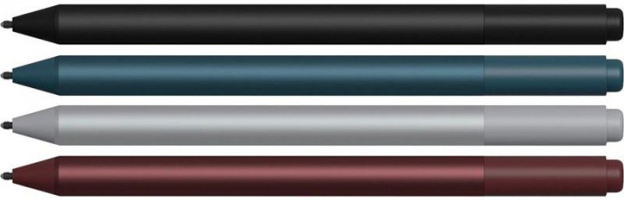 Le stylet de la Surface Pro sera décliné lui aussi en 4 couleurs