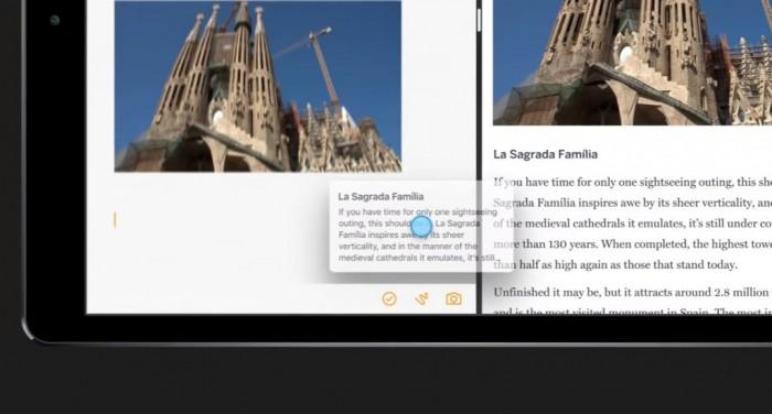 iOS 11 rajoute enfin le glisser - déposer entre deux applications